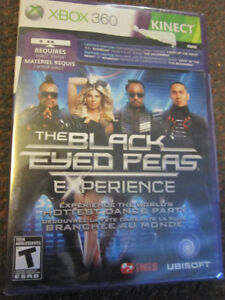 The Black-Eyed Peas Experience - XBox 360 Dance/Exercise -$7.00