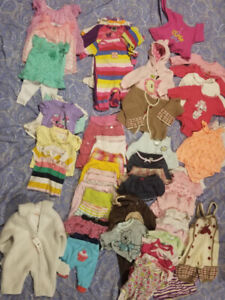 Girl Clothing Lot 3-6 month