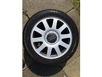Audi a4 - alloy wheel b6 and b5 also fit skoda,vw,a6