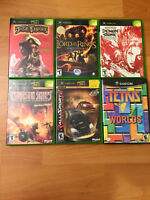Xbox and GameCube games ($5 each)