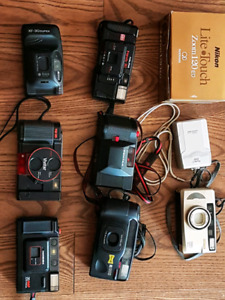 point and shoot cameras collection