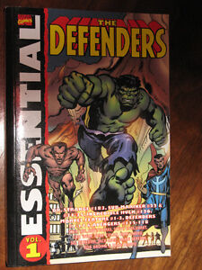 MARVEL COMICS ESSENTIAL DEFENDERS VOL.1 ( RARE )