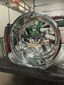 22x14 Specialty Forged Wheels 8x180