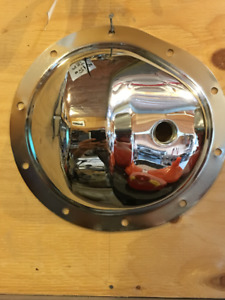 "Chrome Differential Cover, 8.5"" GMC/Chevy"