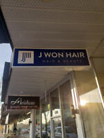 Hair chair rent and Hair stylist wanted