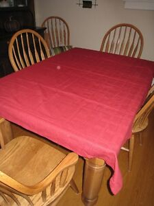 Red Tablecoth Kawartha Lakes Peterborough Area image 1
