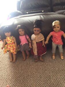American girl doll Josefina historical character, like new