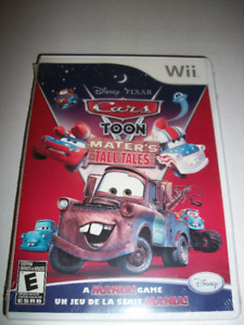 NEW - Car Toon Mater's Tall Tales wii game