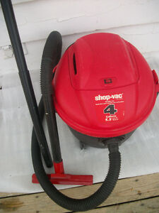 SHOP VAC .FOR ALL YOUR CLEANING NEEDS ,