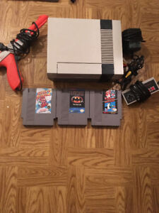 Nintendo with games