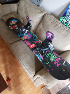 BURTON all mountain Snowboard w/technine Tmoney bindings