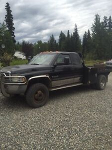 1999 dodge 3500 flat deck 8000 need gone! Or trade