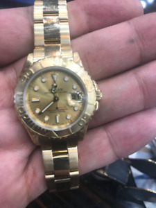 Rolex Ladies YACHT-MASTER  29mm Full Gold