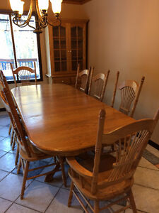 Oak Dining Set (Solid Oak) quality built
