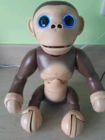 Zoomer Chimp Monkey Interactive toy by Spin Master