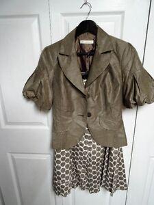 Womens 2pc skirt set