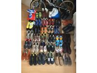 SIZE 8 TRAINER, BOOT & SHOE COLLECTION.