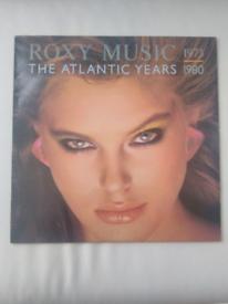 Roxy Music Hits -The Atlantic Years 1973 -1980 vinyl record.