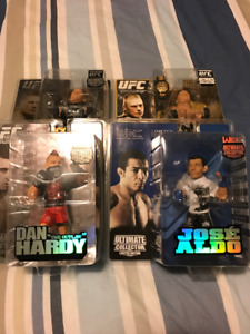 UFC MMA Figures (21 count lot) Limited Editions Ultimate Fighter