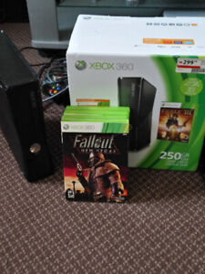 XBOX 360S and XBOX 360 250G and PS2 CONSOLE