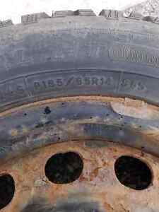 Toyota echo winter wheels and rear brake shoes
