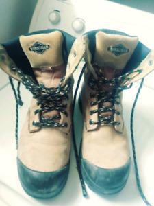 unisex work boots size 8