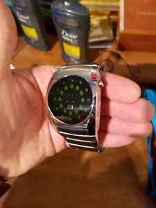 Men's LED Binary Watch (Brand: The One) Cambridge Kitchener Area image 1