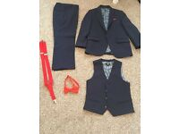 Navy Blue boys suit age 6 years