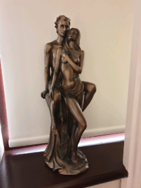 Set of 2 bronze figurines