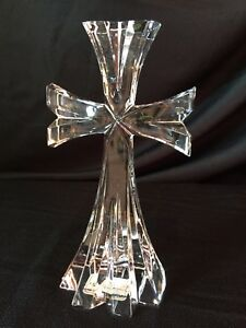LENOX CRYSTAL OVATIONS CROSS excellent condition with sticker still attached