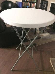 Pub Table (folding), Tall table, Bar table