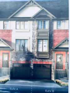 Brand new Town home 3 Bedrooms and 3 Bathrooms with a Den