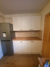 Kitchen units/cupboards/work top/sink for sale
