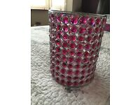 Pink jewelled Ceiling lamp