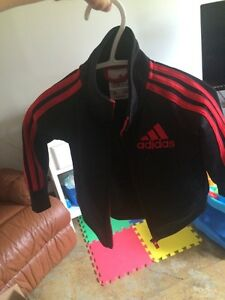 Adidas track suits for babies; boys or girls.