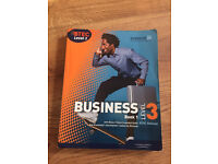 Business Btec Level 3 book Extended diploma