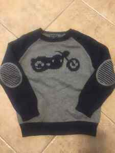 GAP motorcycle knit sweater MINT