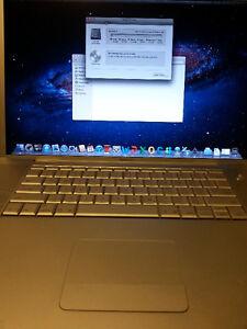17'' Macbook pro  2,33ghz en parfait etat office pour mac
