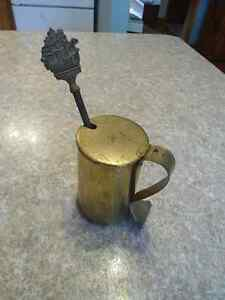 OLD BRASS CAPE COD FIRE STARTER