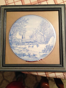 Custom Framed - Currier & Ives pictures
