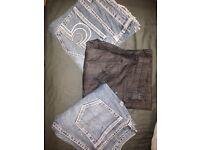 Women's jeans x 3