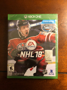 NHL 18, Xbox One, Unopened