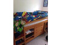 Next mid sleeper bed