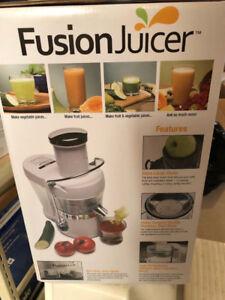 BNIB Jack Lalanne Fusion Juicer for Sale