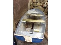10ft rowing dingy or tender punt for fishing boat