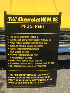 1967 NOVA SS PRO STREET