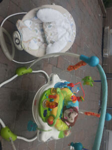 Baby bouncer and Chair
