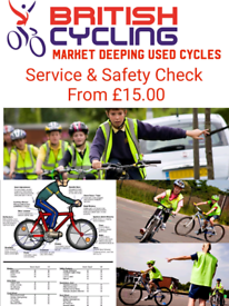 Bicycle Service & Safety Check - Market Deeping Used Cycles