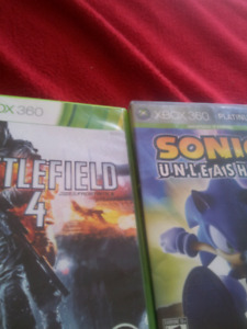 Xbox 360 battlefield 4 nd sonic unleaashed