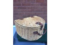 Wicker Picnic basket and accessories